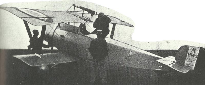Nieuport XI 'biplane de chasse' (destroyer).