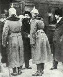 Arrival of Trotzky at Brest-Litovsk