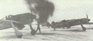 Fw 190 starting engines