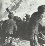 German mountain troops in the high Caucasus