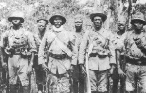 German askaris of the 'Schutztruppe'