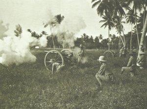light field gun of the German Schutztruppe