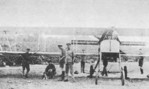 British Voisin planes in East Africa,