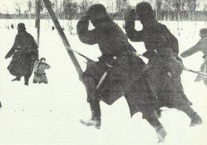 German soldiers Eastern Front 1918