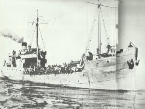German transport in the Mediterranean