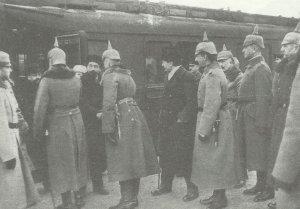 Soviet delegation in Brest-Litovsk
