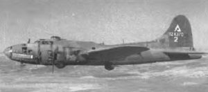 B-17F Fortress in flight