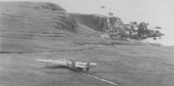 B-24D Liberator made a force landing