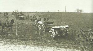 Open warfare breaks out on the Western Front