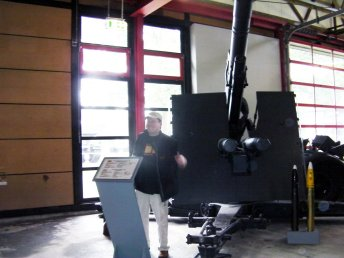88mm Flak in Panzer museum Munster (Germany)