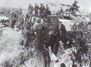 German Rifle unit on anti-partisan operation