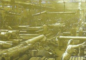British artillery factory