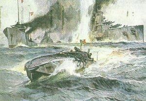 Sinking of 'Szent Istvan'
