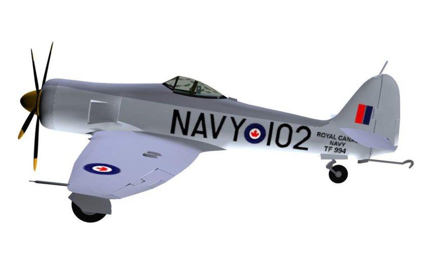Hawker Sea Fury FB Mk II