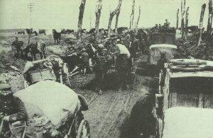 German baggage train