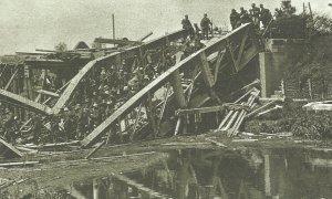 German troops cross the Marne