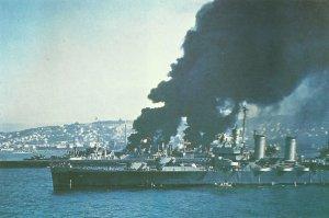 light US cruiser 'Savannah'