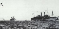 US troopships heead for Europe