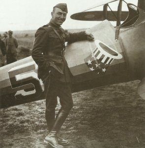 US ace Edward 'Eddie' Rickenbacker