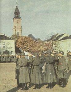 recruit swearing-in in Potsdam