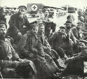 Bulgarian soldiers in Allied captivity