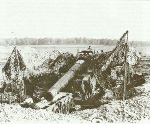 French Schneider Modele 1912 railway gun