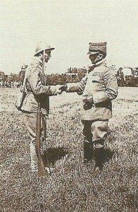 Italian C-in-C General Armando Diaz