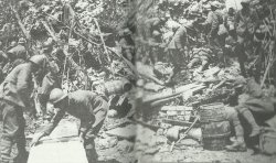 Italian soldiers occupy an abandoned Austro-Hungarian position