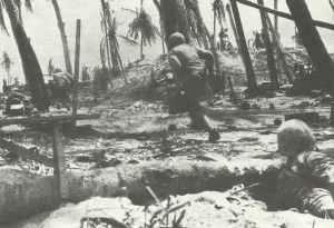 US Marines Tarawa island