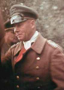 Field Marshal Rommel in France.