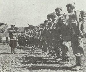 Soviet paratroopers
