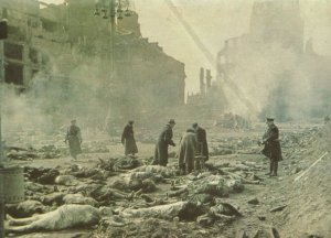 victims of the terrorar attack on Dresden