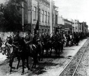 Entry of Red Cavalry.