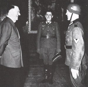 Hitler awards the Knight's Cross