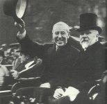 US President Wilson at Paris