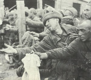 Starving Russian PoW's