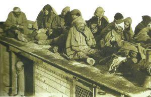 Serbian refugees