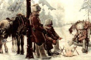 White (Czech) patrol in the Urals