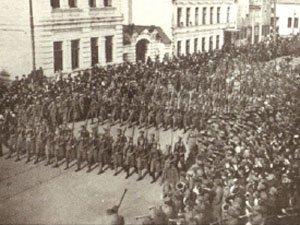 Czech troops in Samara