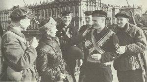 Sailors and workers' militias Leningrad