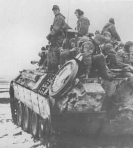 Panther tank of 'Grossdeutschland'
