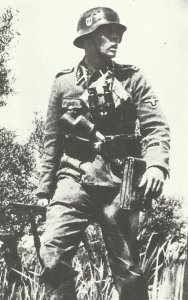 SS-Oberscharführer of the Germania-Regiment