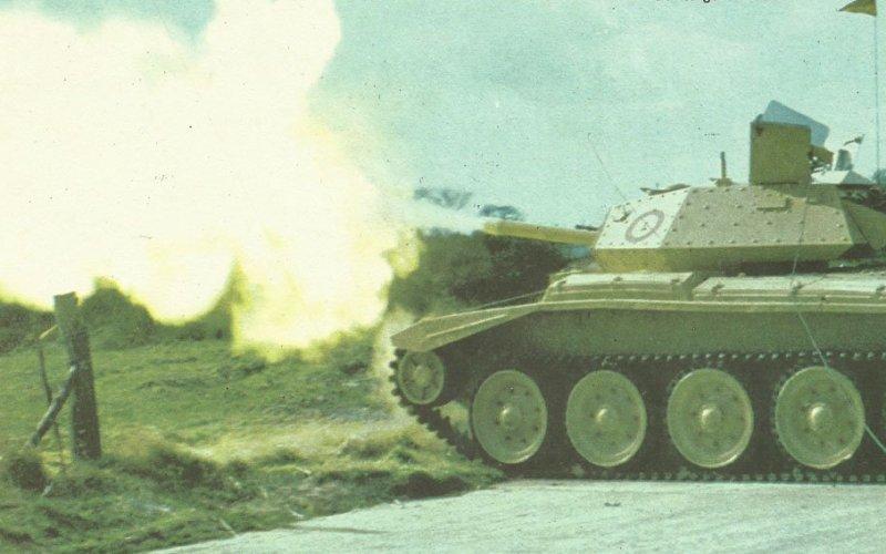 Firepower of Tanks