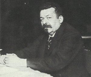 Ebert as the first president