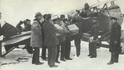 first German airmail connection