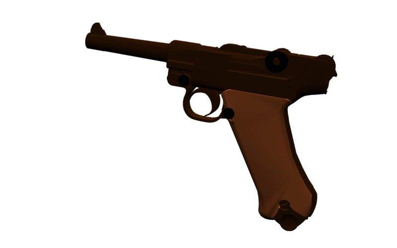 Luger Pistol 08