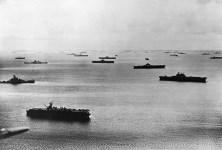 U.S. Fleet in Majuro Atoll