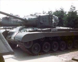 Pershing RAC tank museum