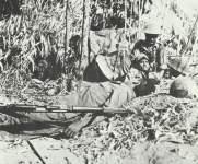 captured Japanese position