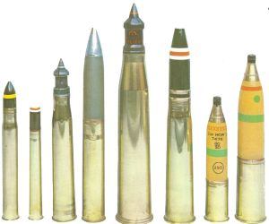 British tank ammunition